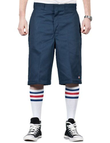 "Dickies 13 /"" Multi Pocket Shorts Loose Fit Khaki Sreetwear Skater Rockabilly"