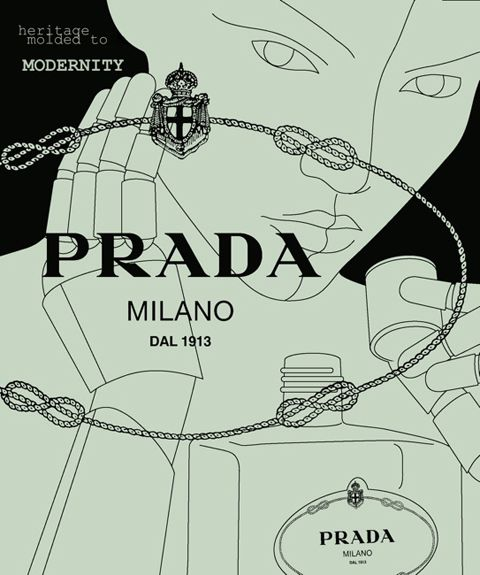 PRADA - Who doesn't love getting a new scent that does not remind you of ANYTHING OR ANYONE..JUST new possibilities......