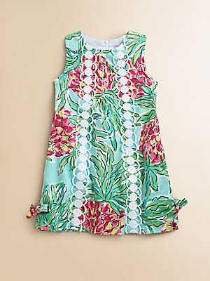 Lilly Pulitzer Kids Toddler's & Little Girl's Little Lilly Shift Dress