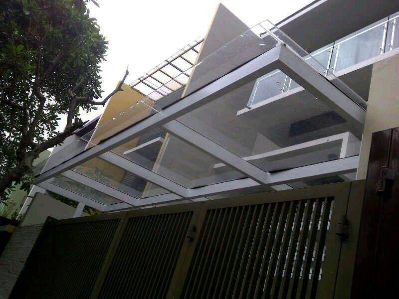 Kanopi Baja Galvanis Jasa Pasang Jakarta Rumah Alderon