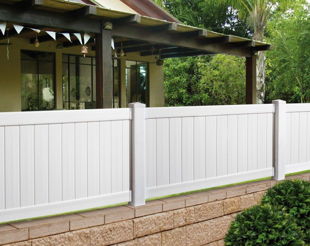 קיט גדר PVC גם להתקנה עצמית | Garden / Outdoor | Pinterest