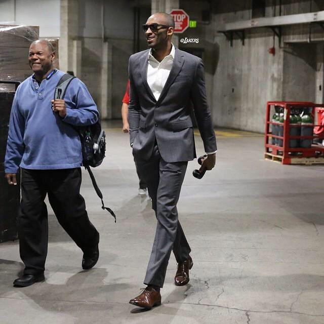 98622a2679bf Kobe after 17yrs still has style   swag