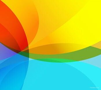 Android Material Design Rainbow Colours.