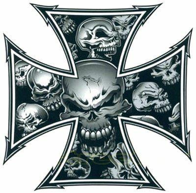 Grey skull ironcross color decal skull and crossbones decals grey skull ironcross color decal skull and crossbones decals letter tattooscross tattoosskull tattoo designskull publicscrutiny Gallery