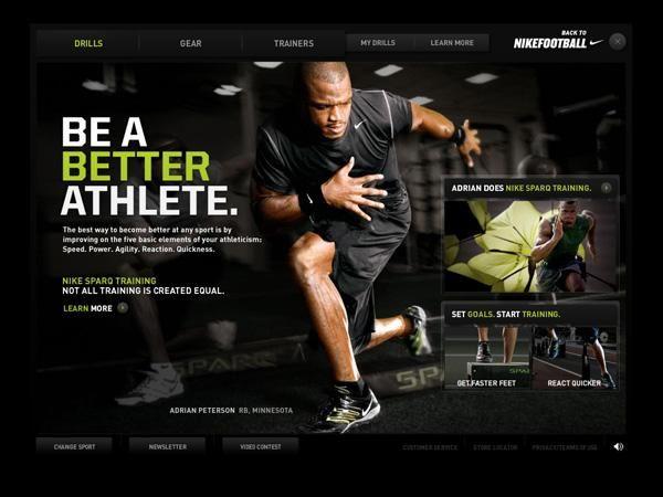 Balance Athlete Football Marketing Sparq