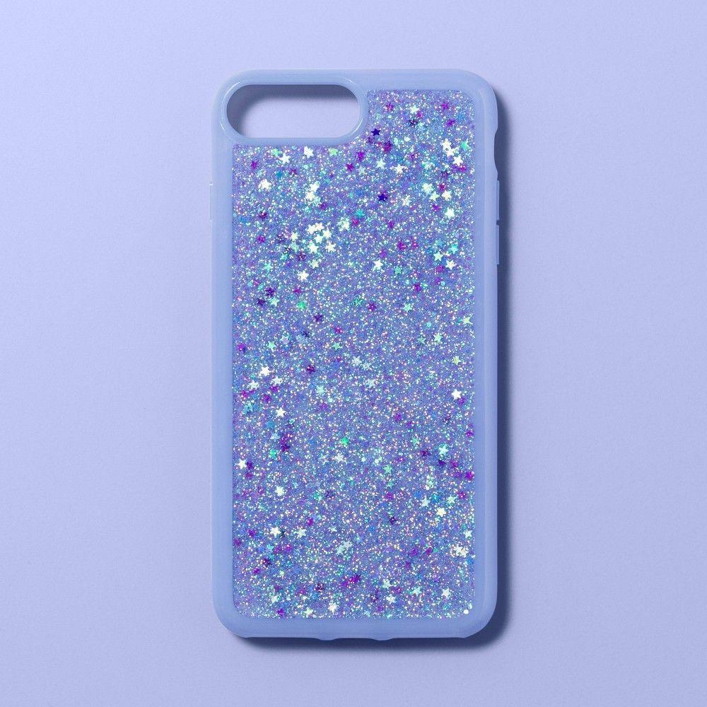 Apple Iphone 8 Plus 7 Plus 6s Plus 6 Plus Glitter Case More Than Magic Blue Star Glitter Case Cool Iphone Cases Apple Iphone