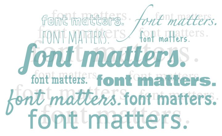 For A Resume Type Font Matters Type Fonts And Fonts