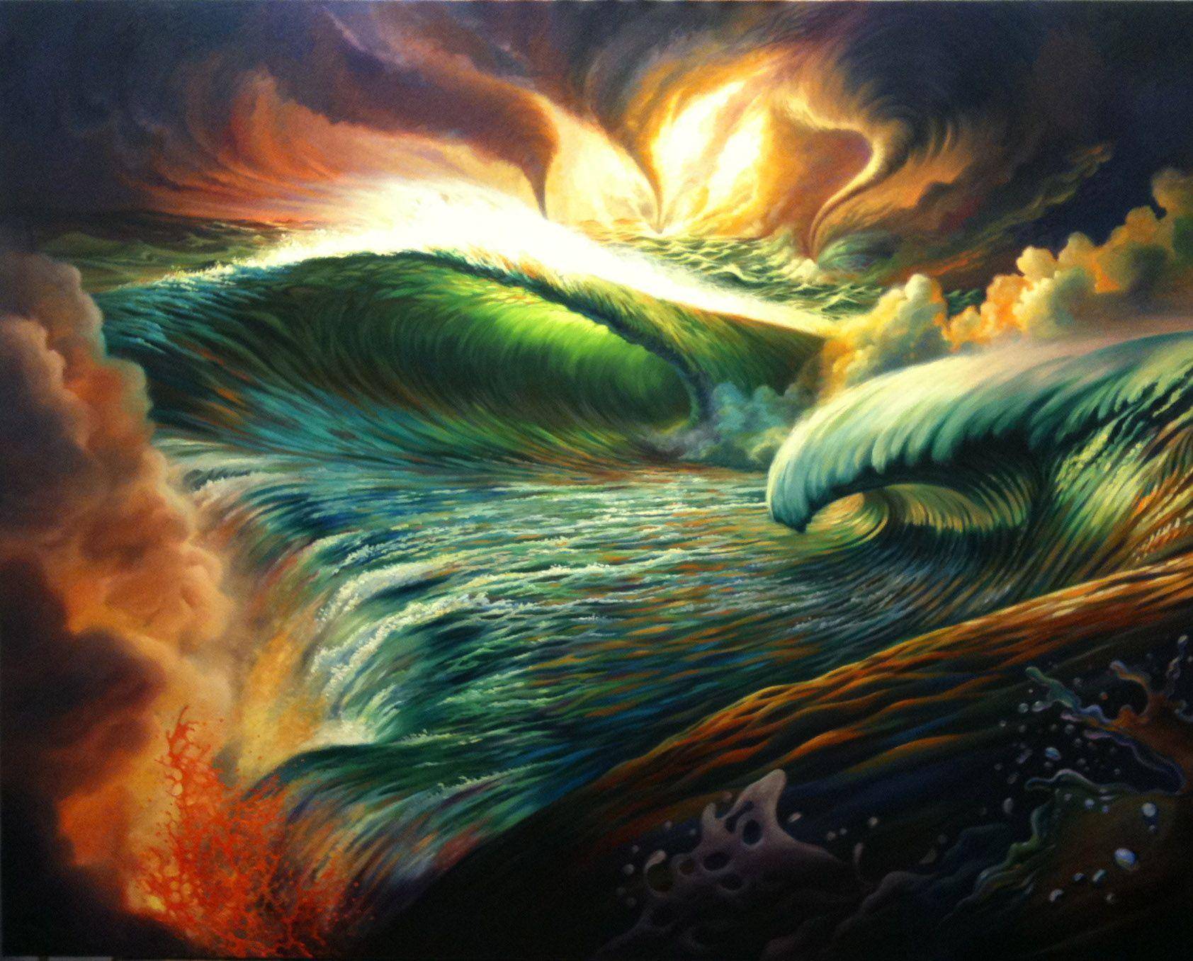 Genesis 1 Painting Series