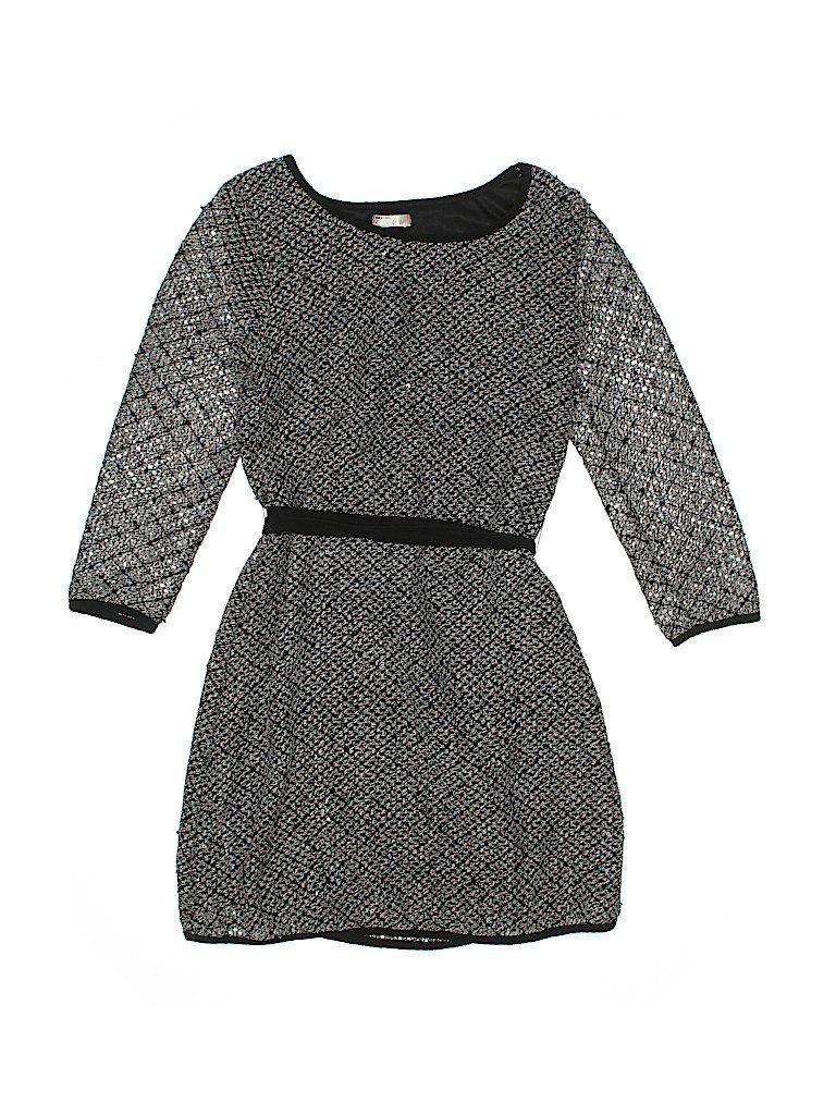 Sally Miller Dress: Black Color Block Skirts & Dresses - Used - Size X-Large
