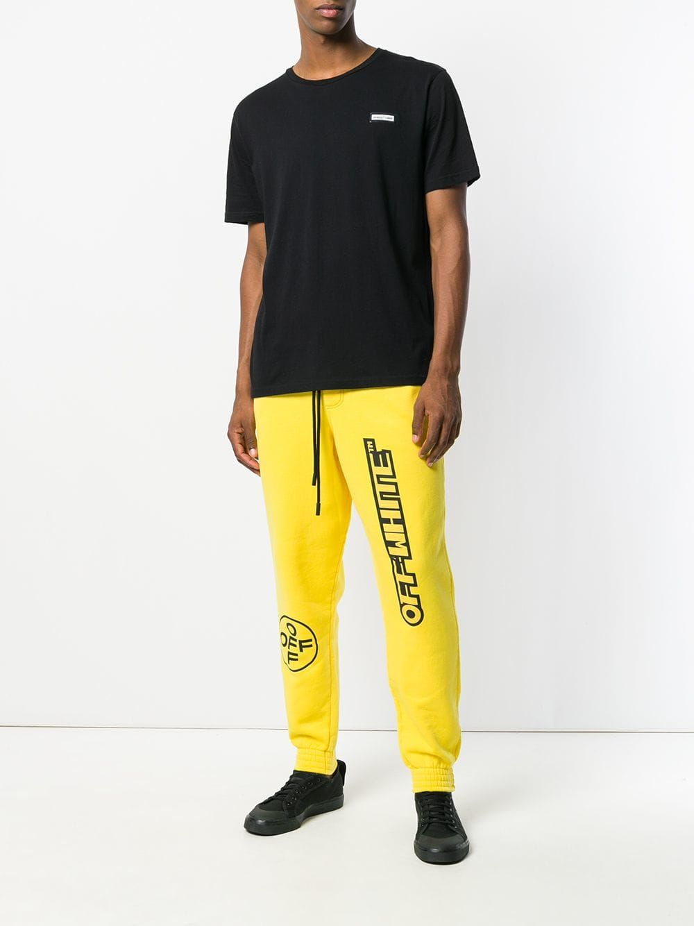 c8d86e9a7593 Off-White logo tracksuit bottoms | CRACK THE CODE Q319 | Tracksuit ...