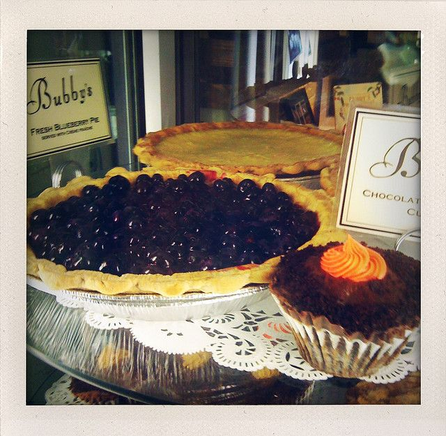Blueberry Pie, from flickr CC: Mike Lewis' photostream