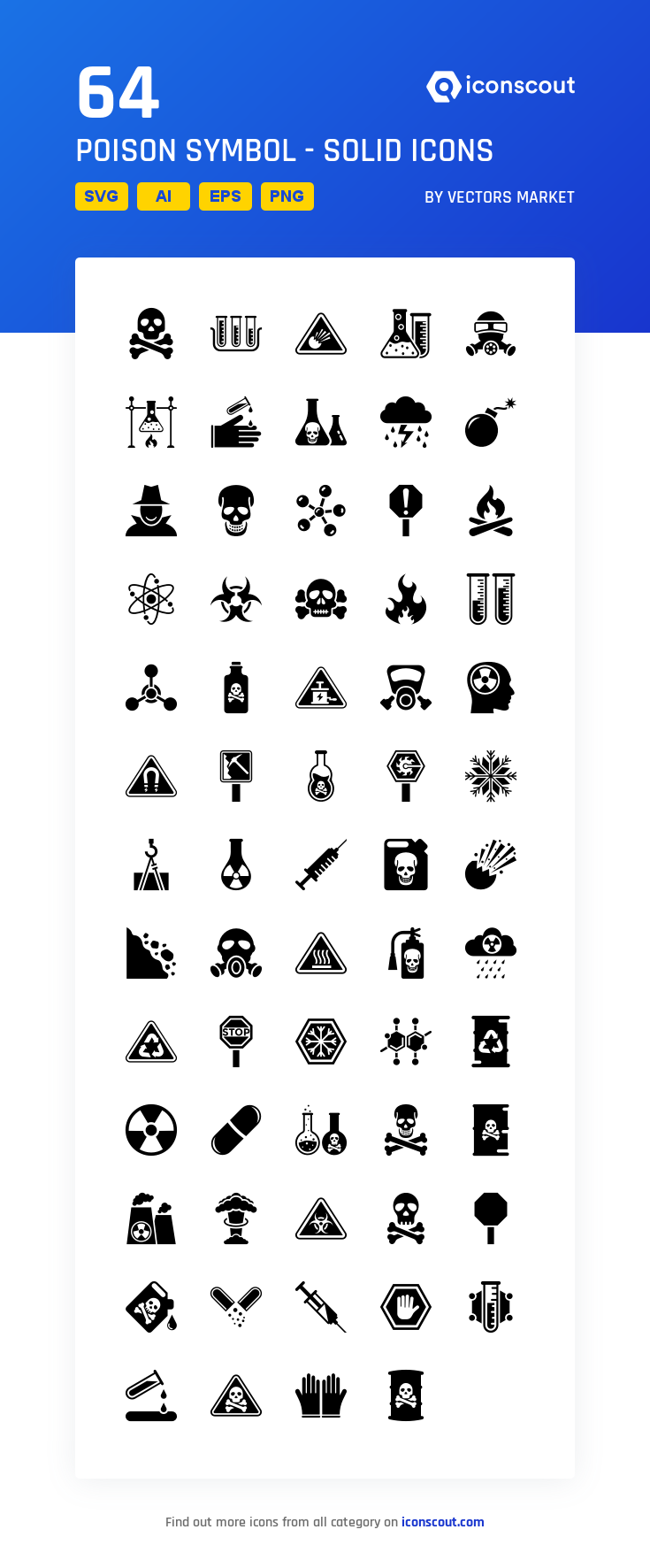 Download Poison Symbol Solid Icon Pack Available In Svg Png Eps Ai Icon Fonts Poison Symbol Icon Symbols