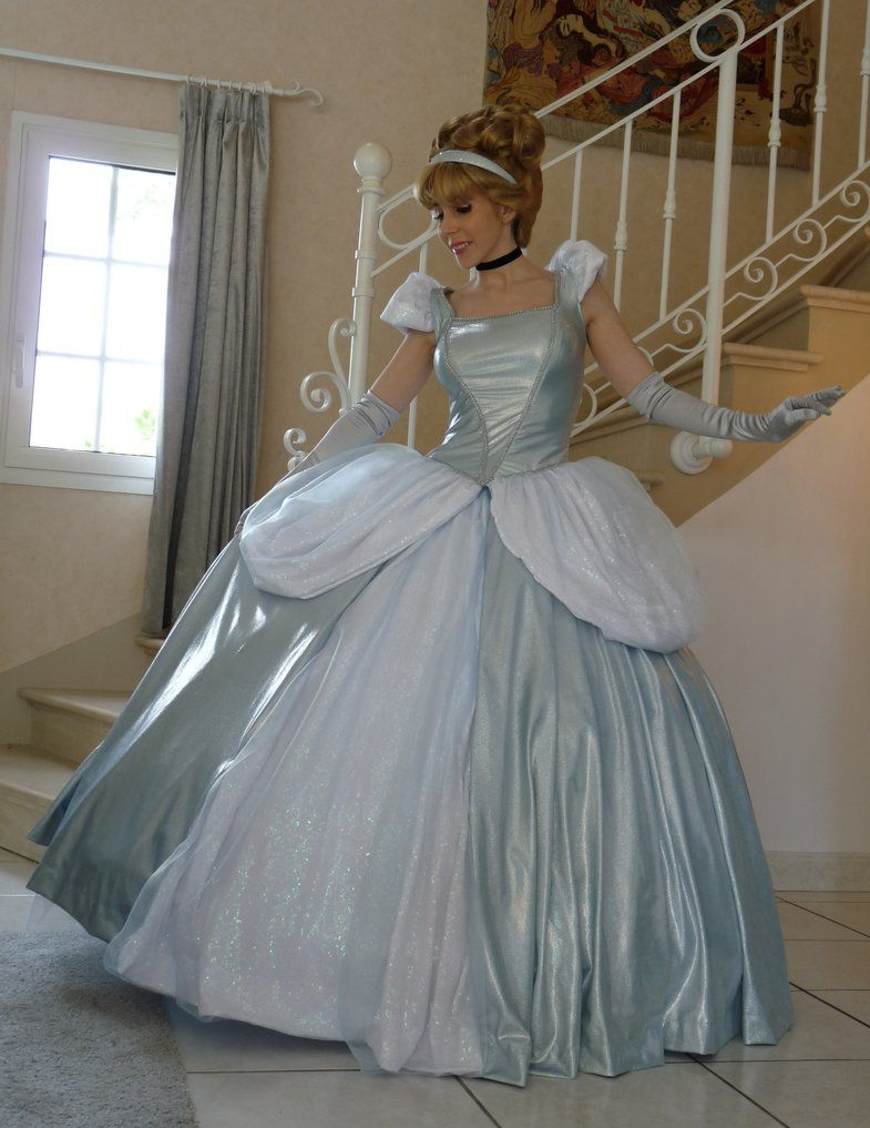 Cinderella wedding dress disney store  Pin by Doris Lépinay on PRINCESSE  Pinterest  Halloween ideas and