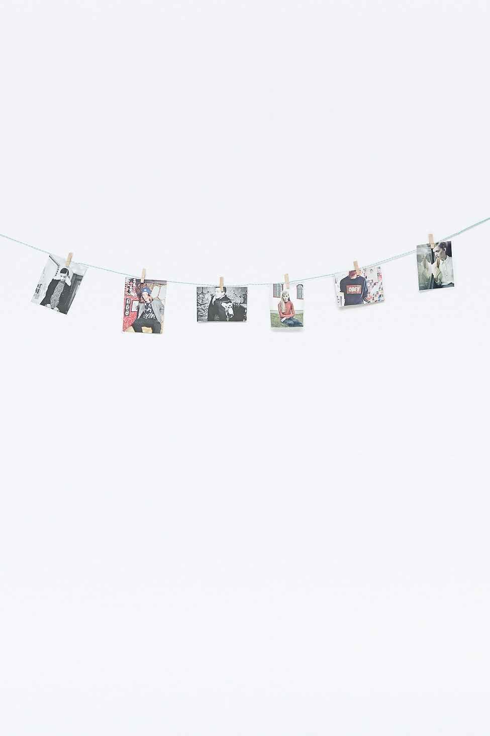 100 Incroyable Suggestions Corde Et Pinces À Linge Pour Accrocher Les Photos