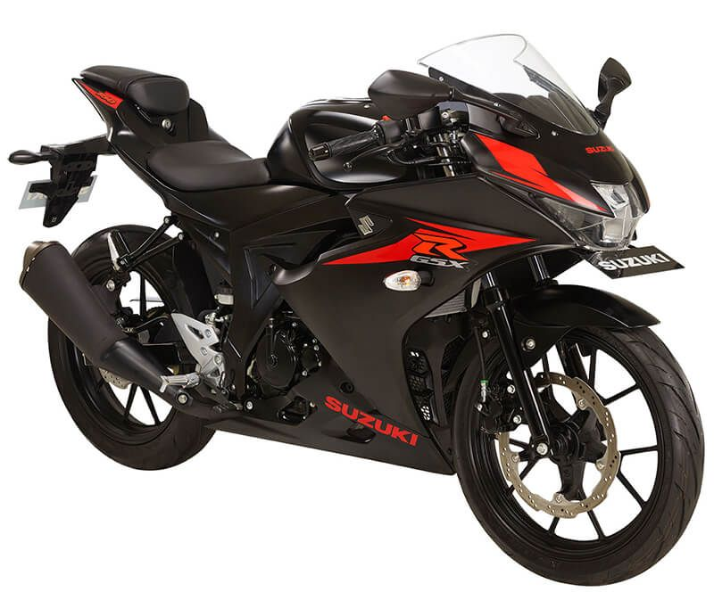 Suzuki Gsx R150 Mate Black Motor Balap Motor Pembalap