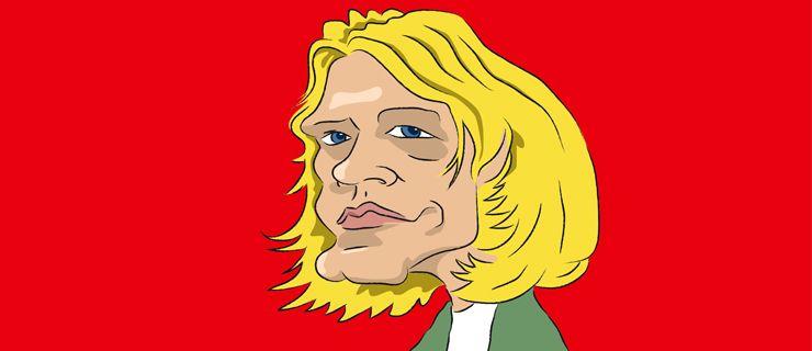 http://mundodemusicas.com/kurt-cobain/ - Kurt Cobain foi e será para sempre uma lenda da cultura pop/rock. A sua carreira musical, mesmo que terminada de forma abrupta e precoce, foi marcada por uma ferocidade que revolucionou o mundo da música. Ainda hoje, Kurt Cobain é relembrado por ter transformado a angústia do punk rock em música pop como nunca antes tinha sido visto… ou melhor, ouvido. Considerado como emocionalmente versátil, o líder dos Nirvana reflecte também uma pesada herança…