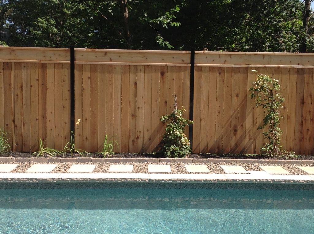 Clôtures De Bois Clôtures Des Patriotes Extérieur Pinterest - Cloture de jardin en beton prix