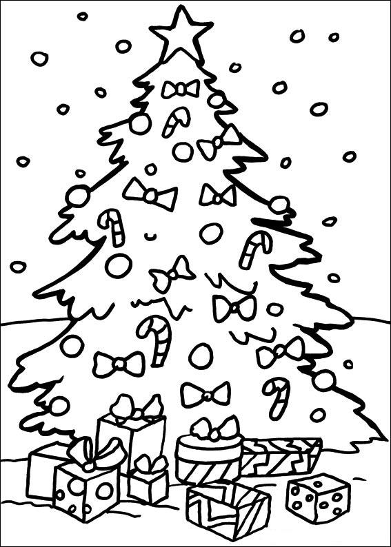 Dibujos Para Colorear De Navidad Arboles