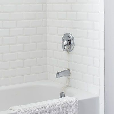 A leaking bathtub faucet or dripping tub spout can dribble ...