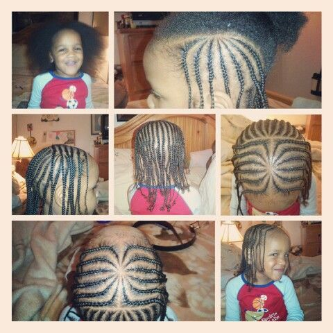 justataste magicfingers braids on a 3 year old 2