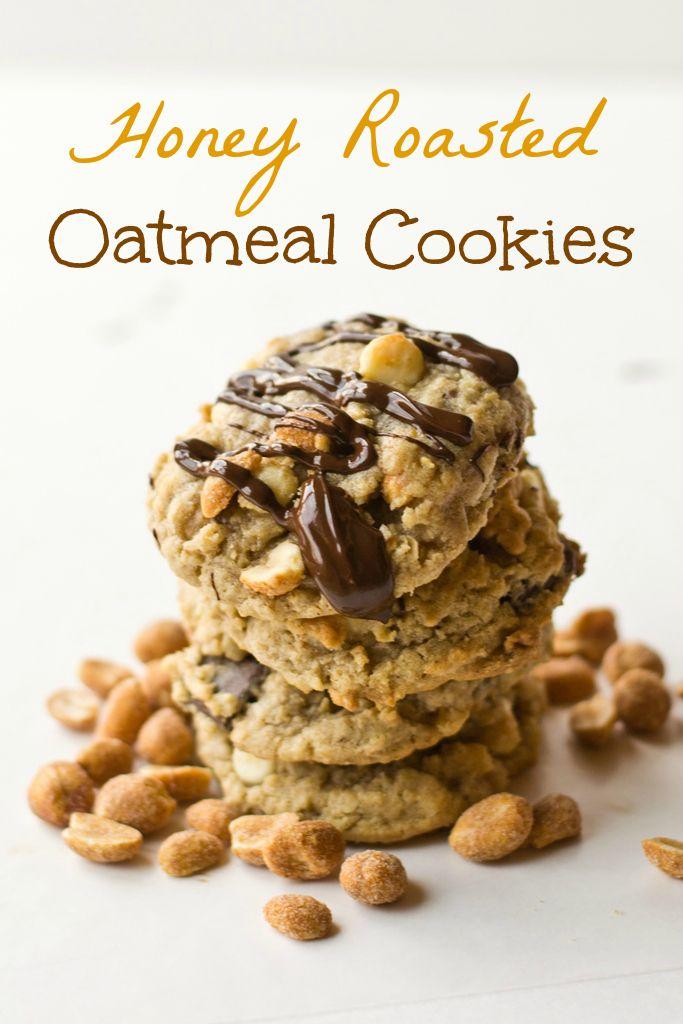Honey Roasted Oatmeal Cookies on MyRecipeMagic.com