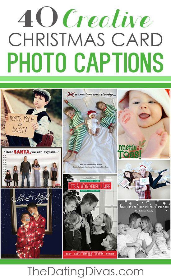 101 creative christmas card ideas and photo captions