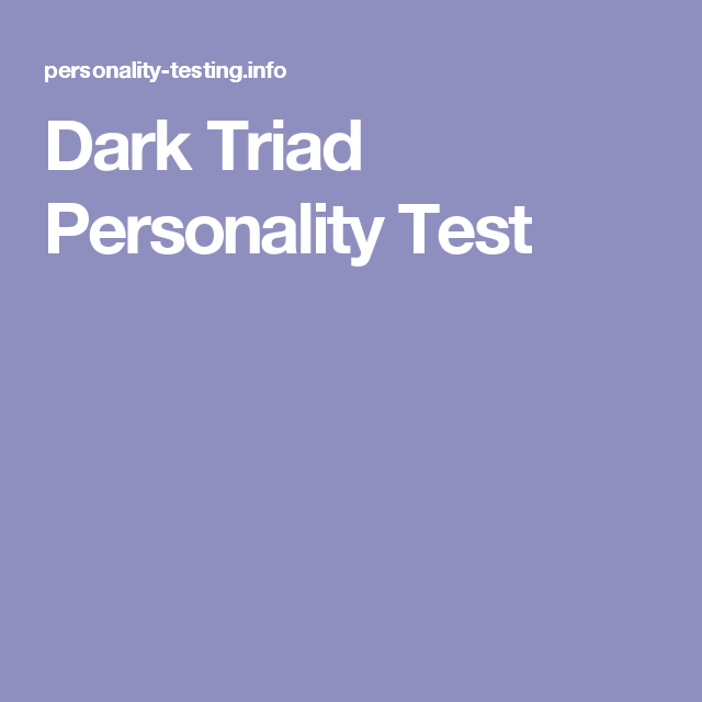 Christian personality test