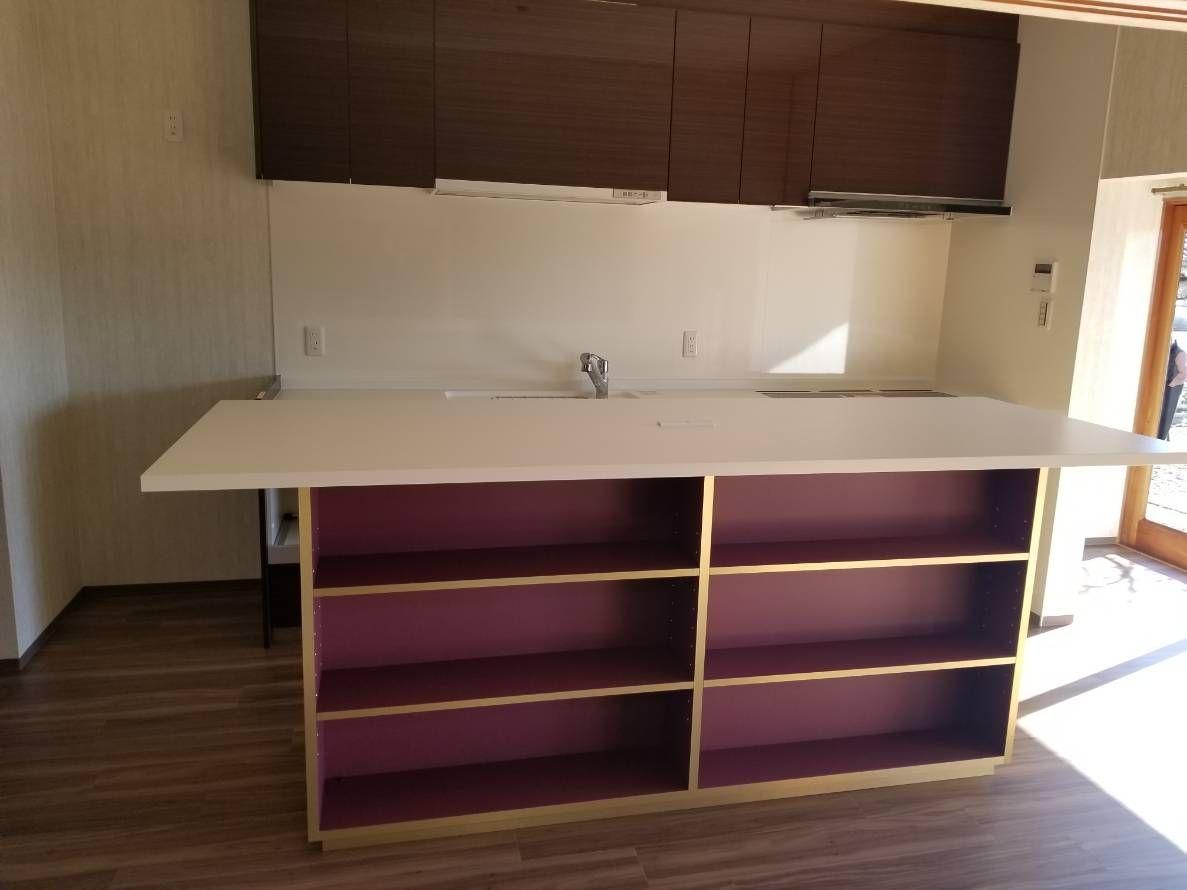 アイランド作業台 リフォーム 住宅改修 キッチン パナソニック
