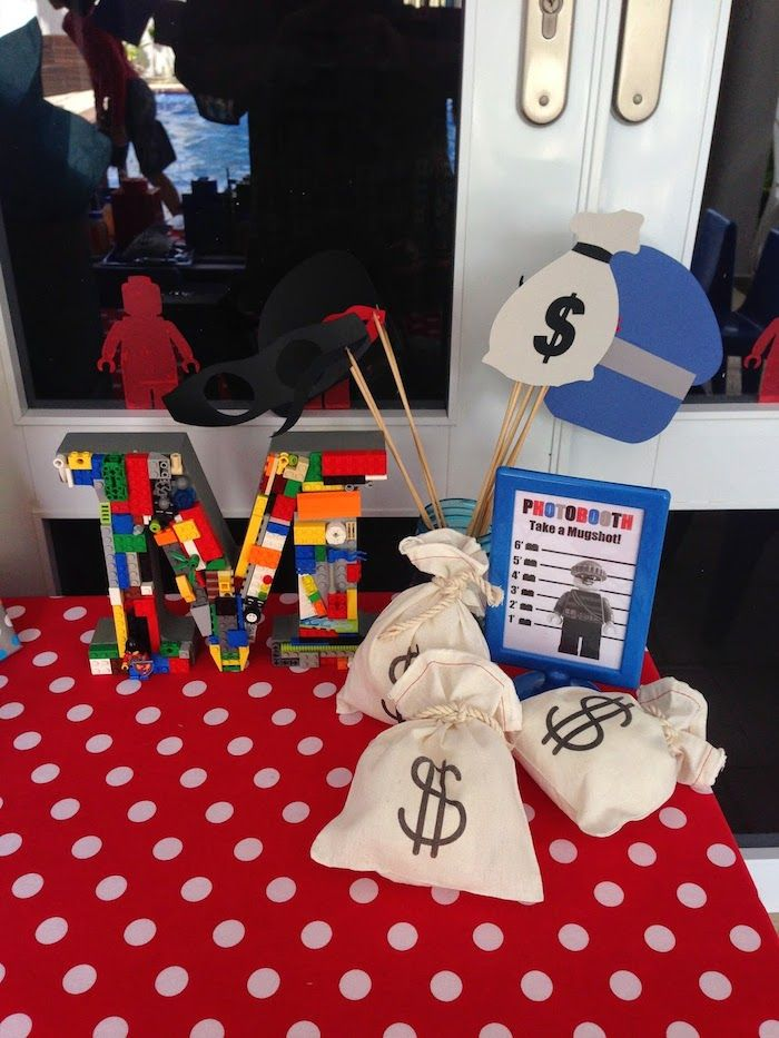 Lego City Police Themed Birthday Party | Lego city police, Themed ...