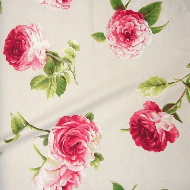 tissu floral tissus ameublement