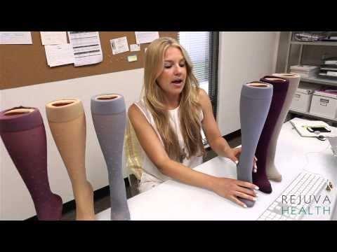 de6a1b6c9f5 How to wear compression stockings in hot weather. Best summer selections. -  YouTube