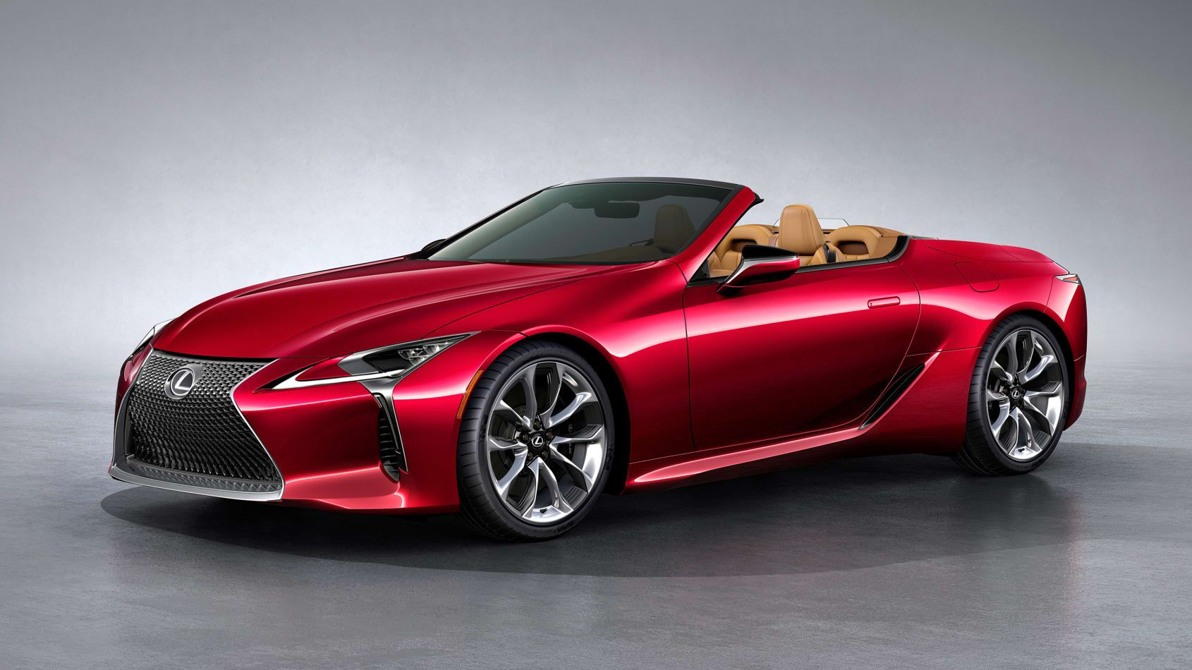 The 2021 Lexus LC500 Convertible Debuts in LA News