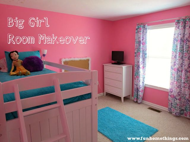 Fun Home Things: Big Girl Room Makeover