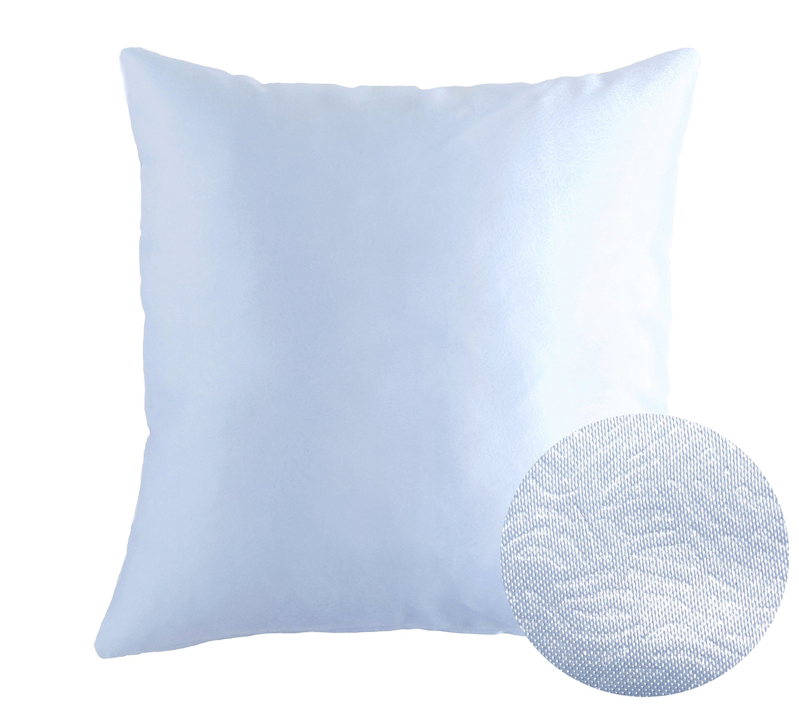 pillow case texture. Cold Light Blue Decorative Satin Throw Pillow Covers Texture Pillowcase  18x18 Inches. ☆The Price Is For 1 Pillow Covers ☆Pillow Cover ONLY - Insert Case Texture