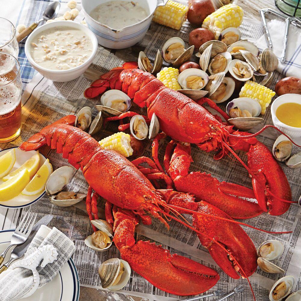 Lobster Boil | Got Lobster? | Lobster dinner, Grilled lobster, Live lobster