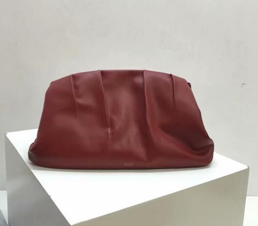 f41881c0f4bf Celine bags 2018 Celine clasp evening clutch purse red
