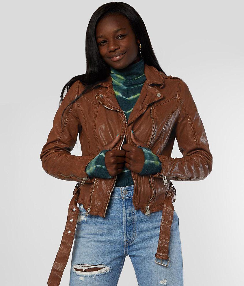 Mauritius Wild Leather Jacket Women S In 2021 Leather Jackets Women Coats For Women Jackets For Women [ 990 x 845 Pixel ]