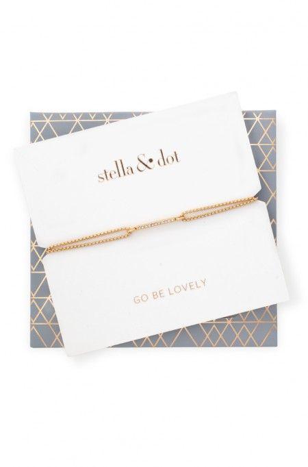 Pave Wishing Bracelet Gray Pinterest Sliding Knot Stella Dot