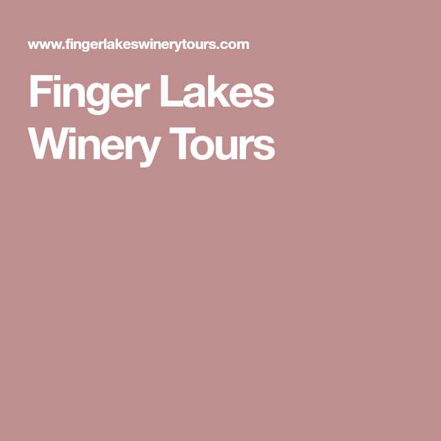 Finger Lakes Wineries, Finger