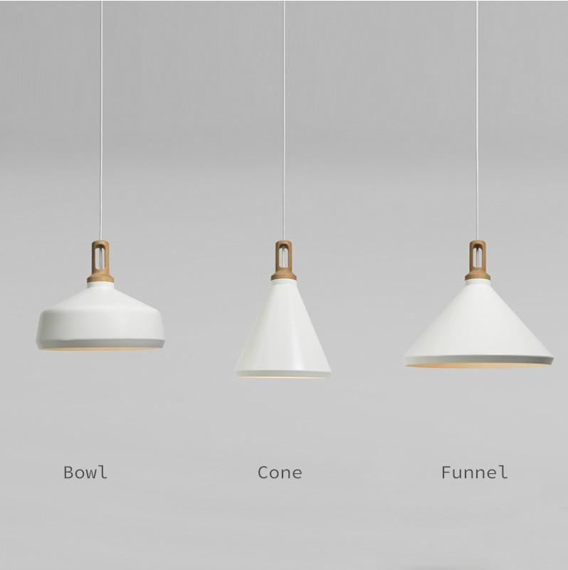Scandinavian Minimalists Designer Ceiling Hanging Pendant Lamp Wood And White Wooden Pendant Lighting Hanging Pendant Lamp Hanging Ceiling Lights