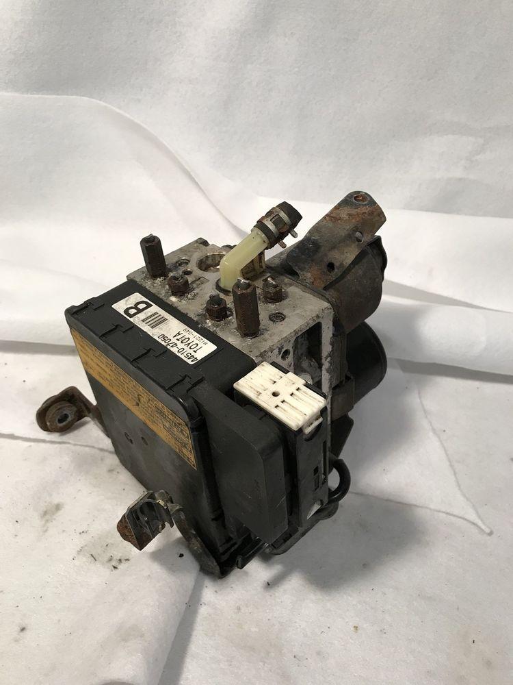04 09 Toyota Prius Abs Anti Lock Brake Pump Actuator Assembly 44510 47050 Oem Toyota Toyota Prius Coach Swagger Bag Toy Car