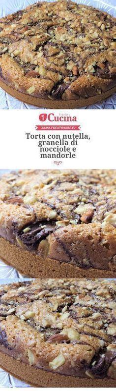 Nocciole Recette Torta Di Mandorle Nutella E Con Pinterest Granella wHHKIqz0