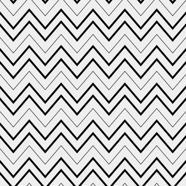 Abstract pattern with zig zag lines Free Vector #pattern #patrones ...