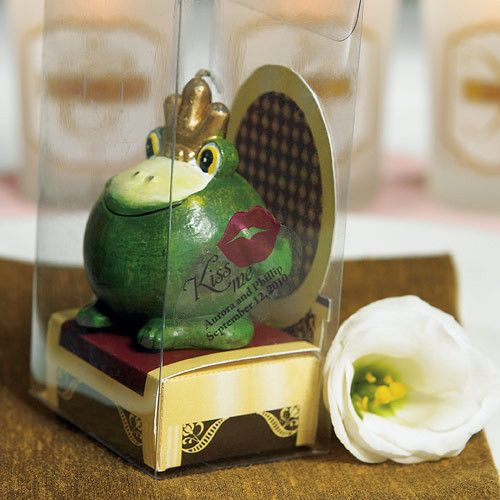 Add Charm To Your Wedding With This Fairytale Frog Prince Candle Favor