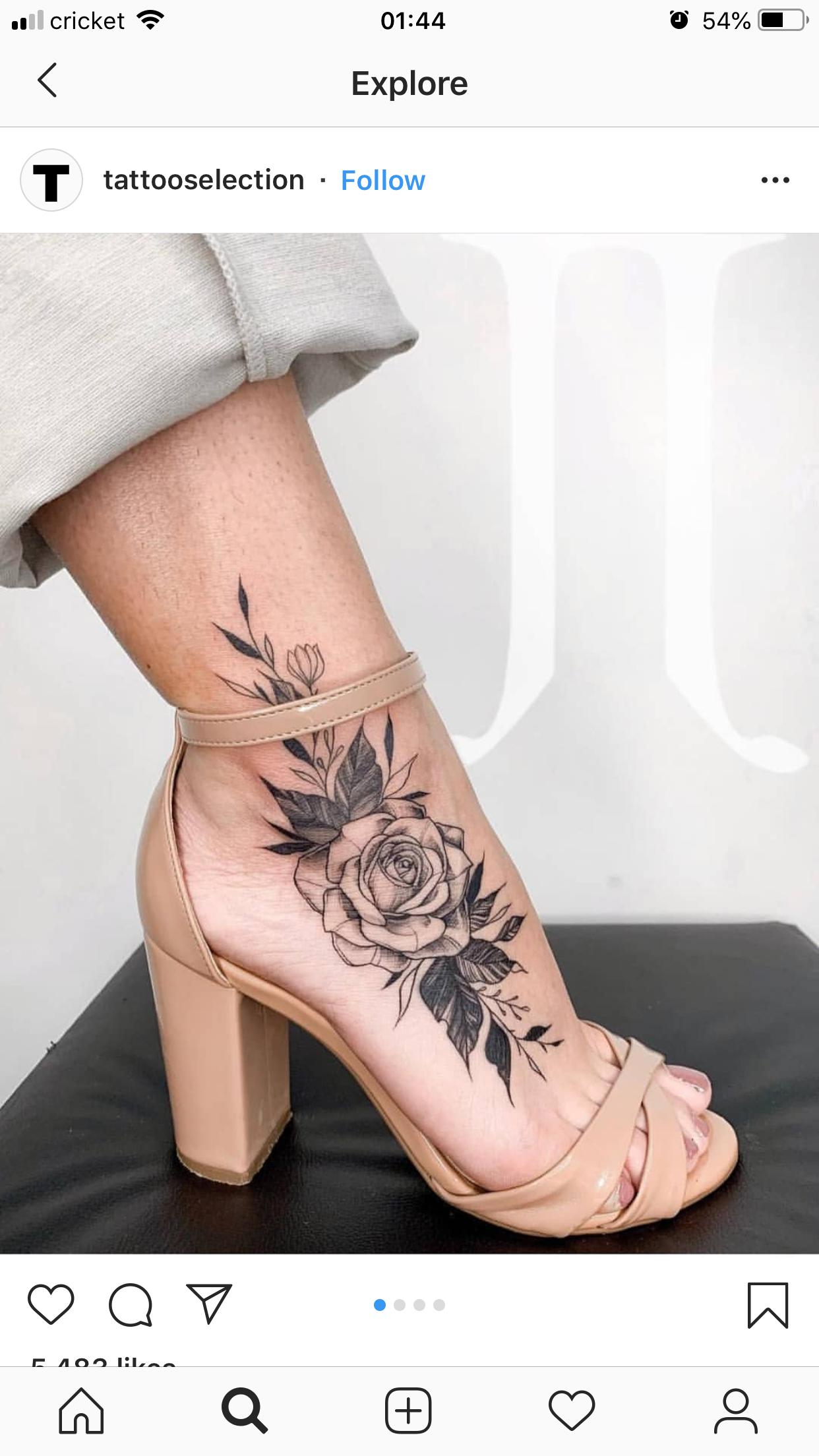 Pin by Amber Sexton on Body Art Feet tattoos, Wrist