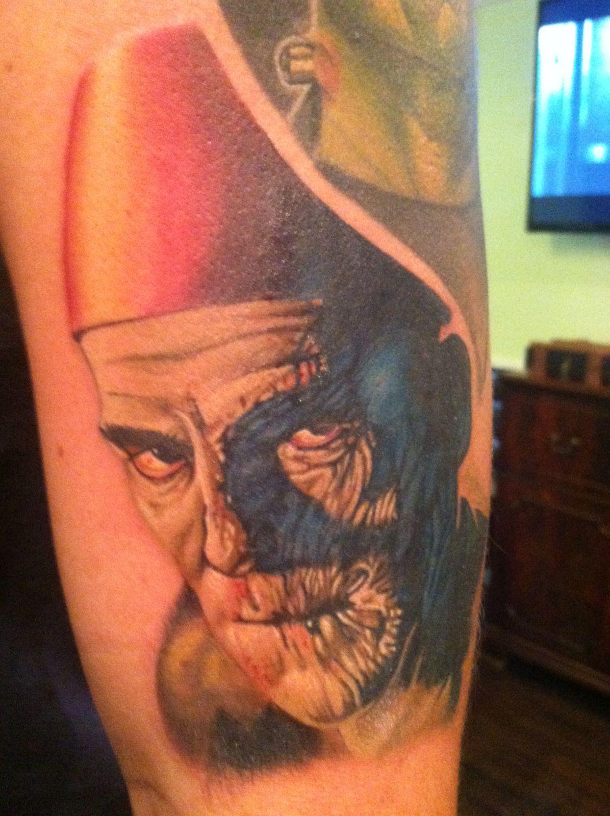 imhotep the mummy boris karloff tattoo monster pinterest