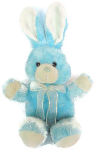 23 in easter bunny rabbit plush stuffed animal toy blue white 23 in easter bunny rabbit plush stuffed animal negle Gallery