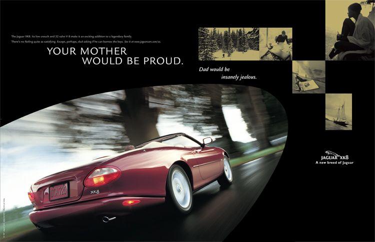 Ceft And Company Ny Agency Jaguar Car Advertising 2