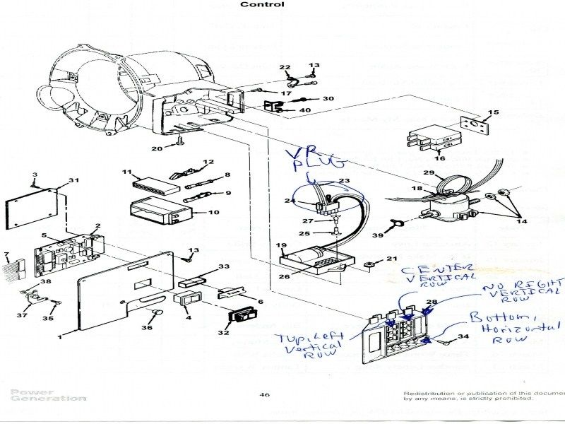 Onan 4000 Rv Generator Parts Diagram  With Images
