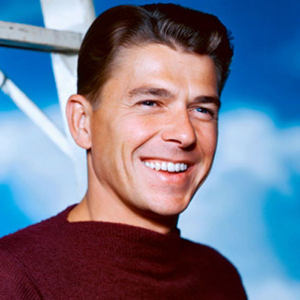 Image result for ronald reagan actor